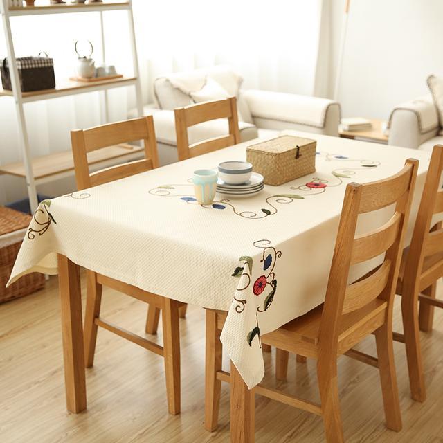 桌布不只是装饰,小清新桌布打造全新的家居环境