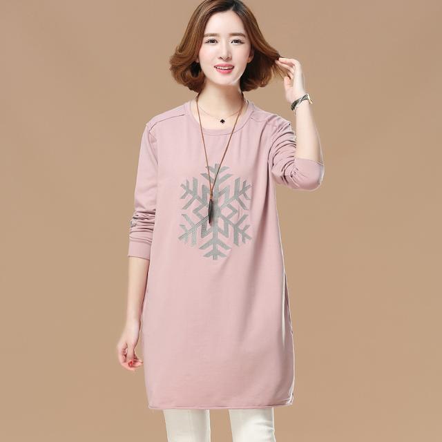 7.圆领刺绣长袖T恤