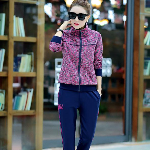 韩版时尚休闲套装