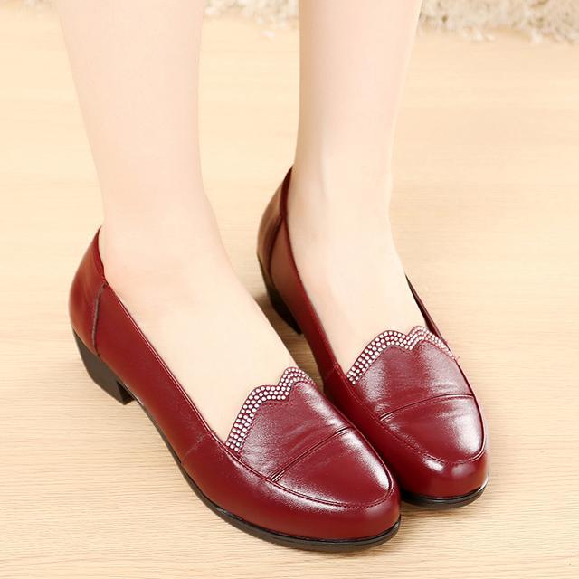 春季中年女鞋