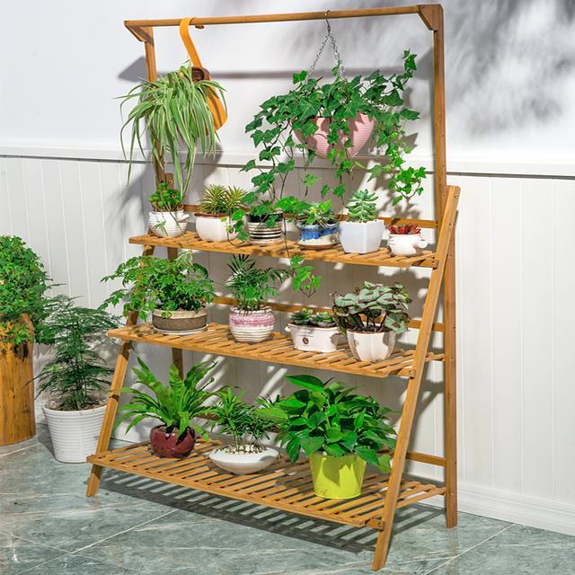 8款美观方便的创意花架,实用又能美化居室,生活更有情调