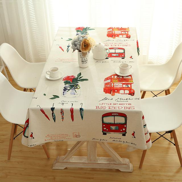 换上一张桌布,让你的旧家换新颜