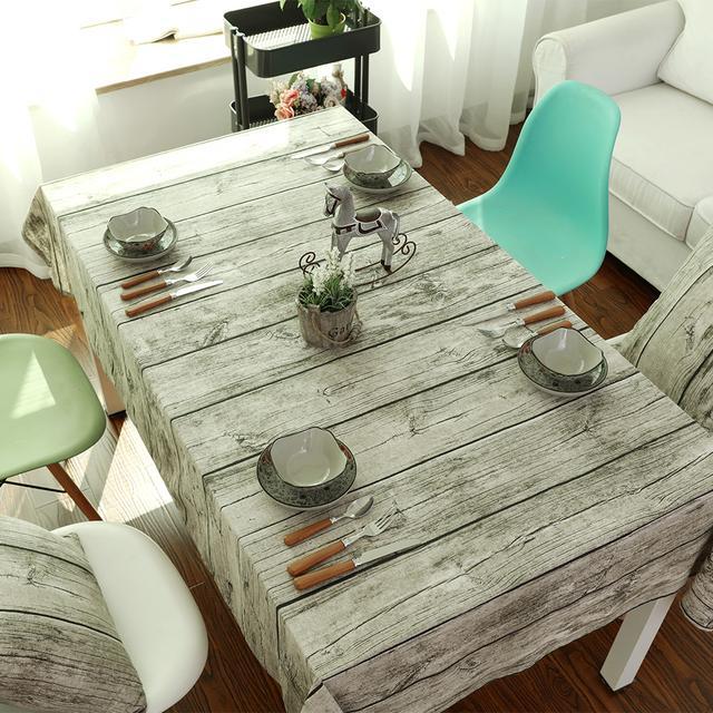 出租屋的破桌子别扔,铺上美美的桌布瞬间就能逼格满满