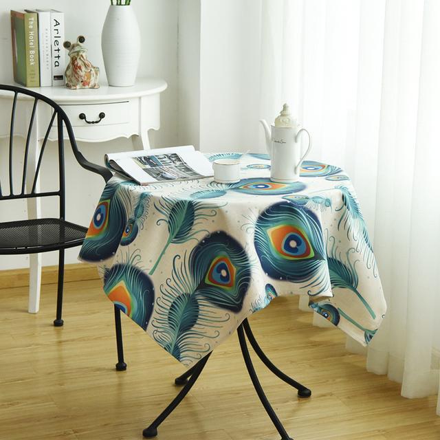 用这8款时尚桌布,把生活过成诗一般舒适