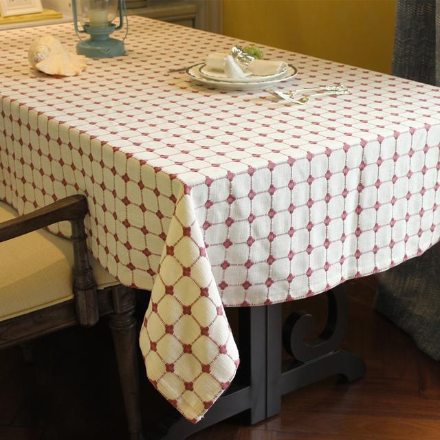 漂亮小桌布,点亮你的家