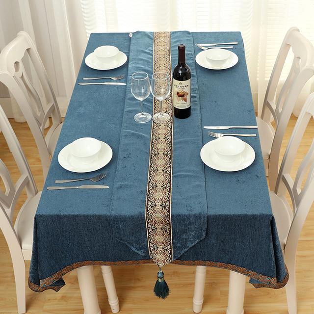 时尚美伦桌布,瞬间提升餐厅格调