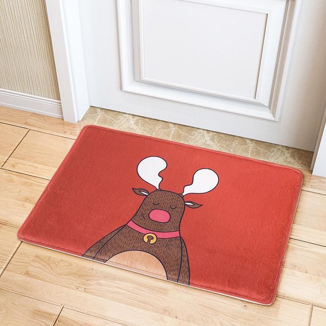 门垫就要选择有创意有个性的!这样一进门会给人眼前一亮的感觉