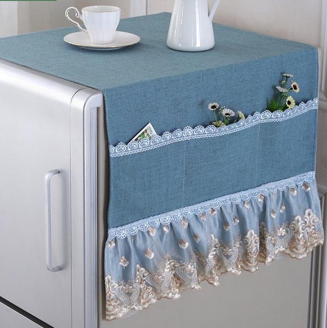 冰箱防尘罩!不仅文艺好看,还能做杂物收纳袋,巧主妇的最爱