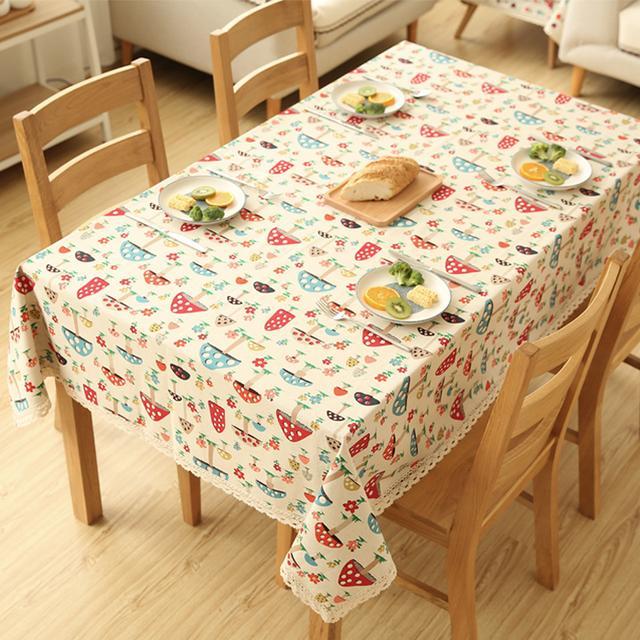 体验优雅质感生活,不能少了清新范十足的桌布