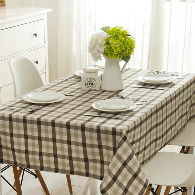 别再用老气的桌布了,现在流行精致桌布,客厅瞬间高大上