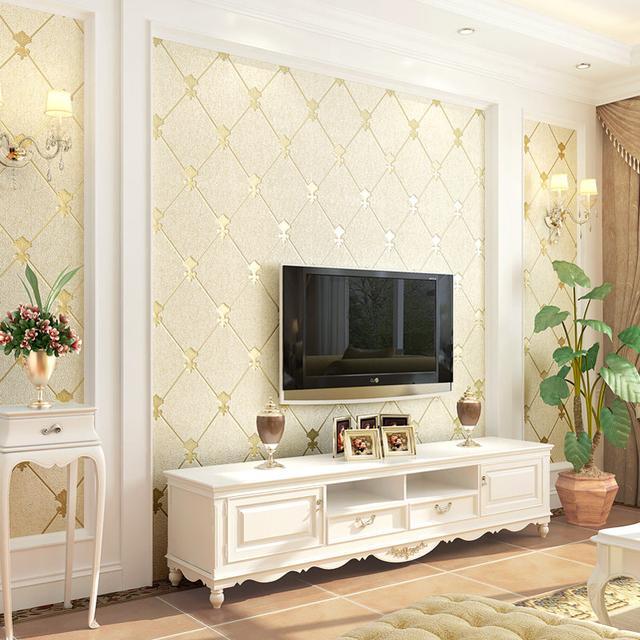 客厅墙壁太单调,12款高颜值欧式墙纸任你选,提升档次有格调