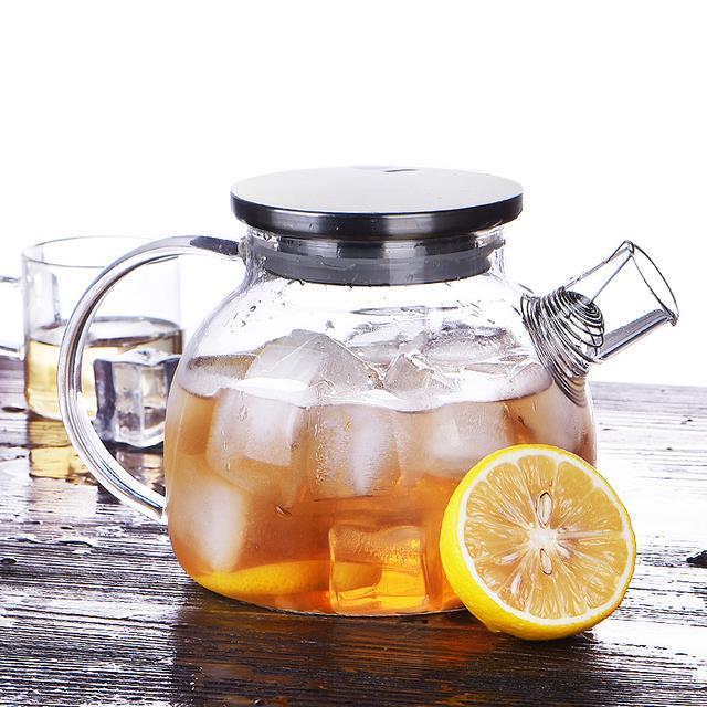 家庭装组合茶具玻璃杯,一壶两杯让你享受惬意生活