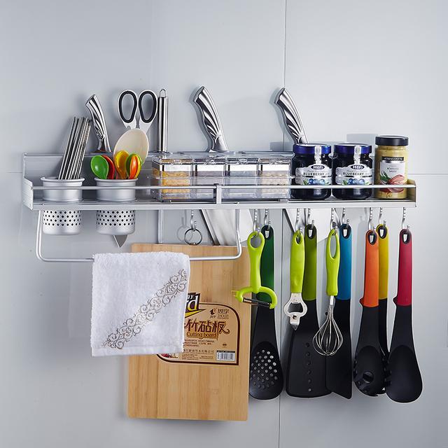 厨房杂物多难收拾,12款厨房置物架帮你解决烦恼,让厨房更简洁