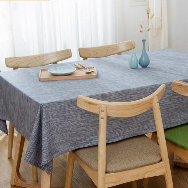 自从家里换了桌布,来蹭饭的人越来越多了