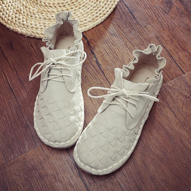 偏爱森系复古风的你,怎会错过这样一双森系复古文艺鞋