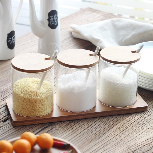 厨房分类太杂乱,多功能调味盒来帮你分担酸甜苦辣