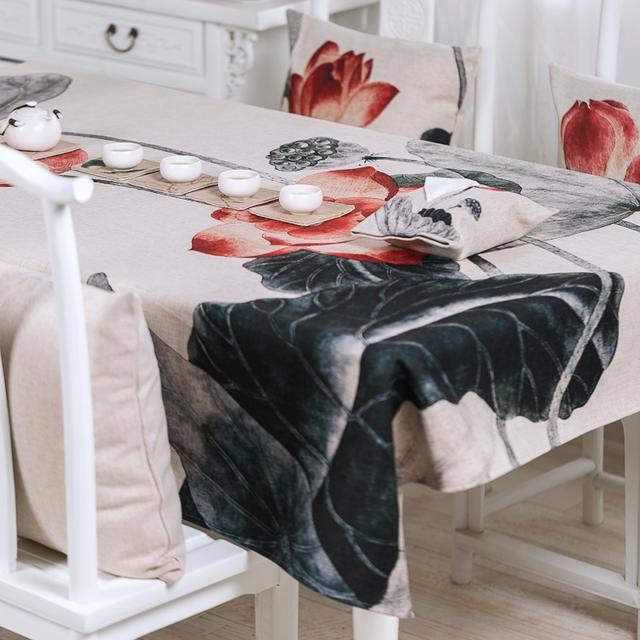丑丑的桌子也能光芒四射,靠的都是这些优质桌布