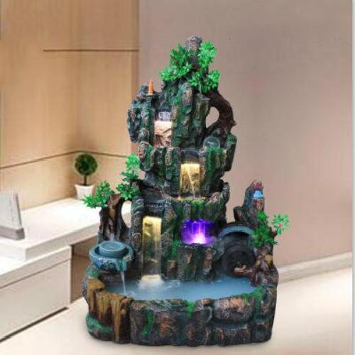 精美创意的喷泉摆件,净化空气美化家居,品味高雅生活