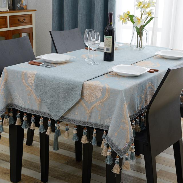 十款经典好看又时尚的桌布,喜欢简约的人可不能错过第八款
