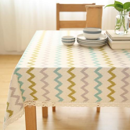 餐桌太丑怎么办?这6款高颜值桌布,为餐厅换一种风格