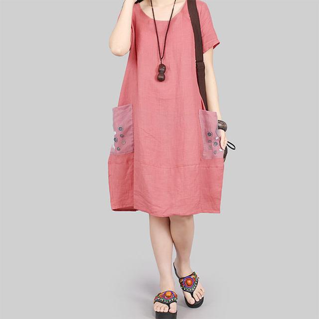 25-45岁的女人穿上这几款棉麻裙,时髦气质还巨显瘦