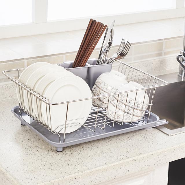 厨房置物沥水架,美观又实用,家务活轻松搞定