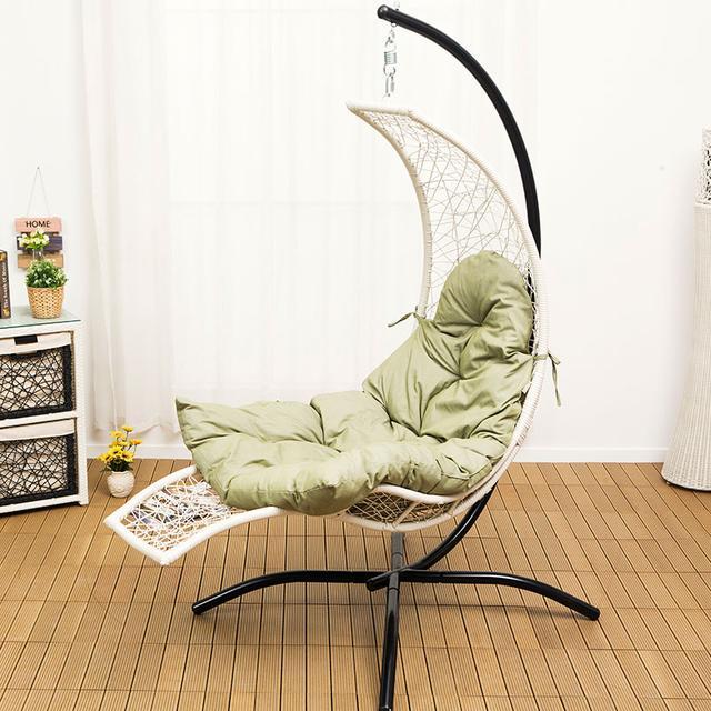 给家装上秋千吊篮椅,给你一个懒在家的理由