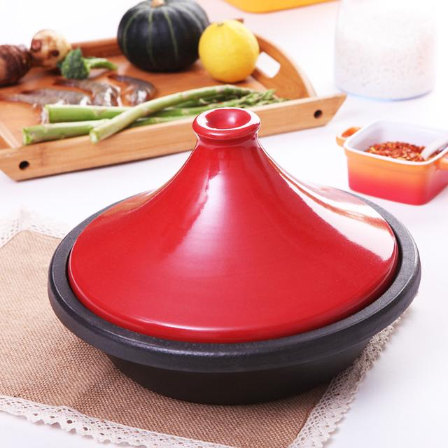 只有高颜值的珐琅锅,才配得上美貌和厨艺兼备的你