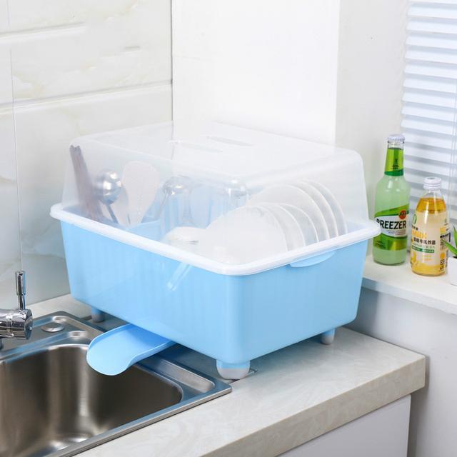 厨房沥水架,不但省了消毒柜的麻烦,还能巧妙地收拾你的碗筷