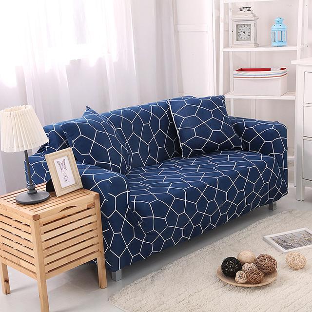 旧沙发直接变成新家具,用一个几十元的全包沙发套就搞定