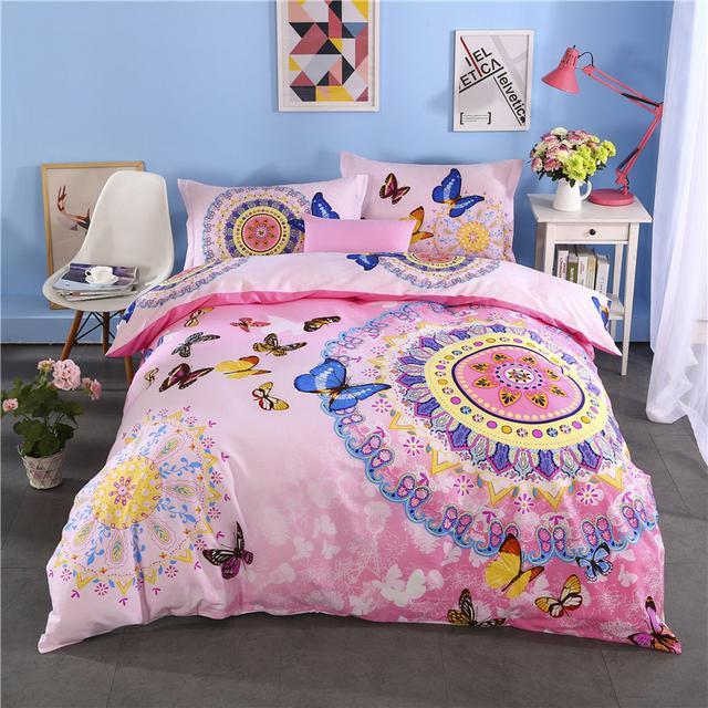 你的生活应当不同,四件套给你不同的卧室风情