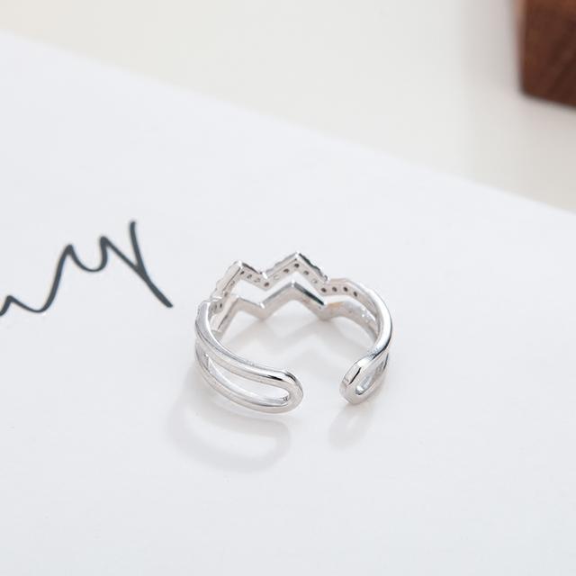 银戒指新款式图片