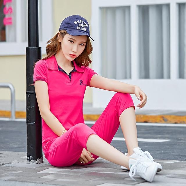 这几款时尚休闲运动服,早上户外运动,舒适凉爽更有气质