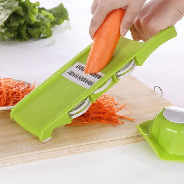 是不是想做一顿好吃的,却切不好菜?多功能切菜神器来帮你