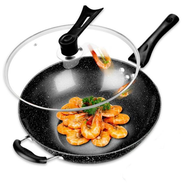 """传统炒锅还在用?快扔掉吧,现在流行""""麦饭石""""""""飞碟""""不粘锅"""