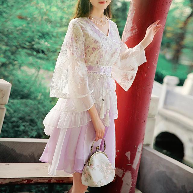 中国风,清新优雅,这才是中国人的连衣裙 3