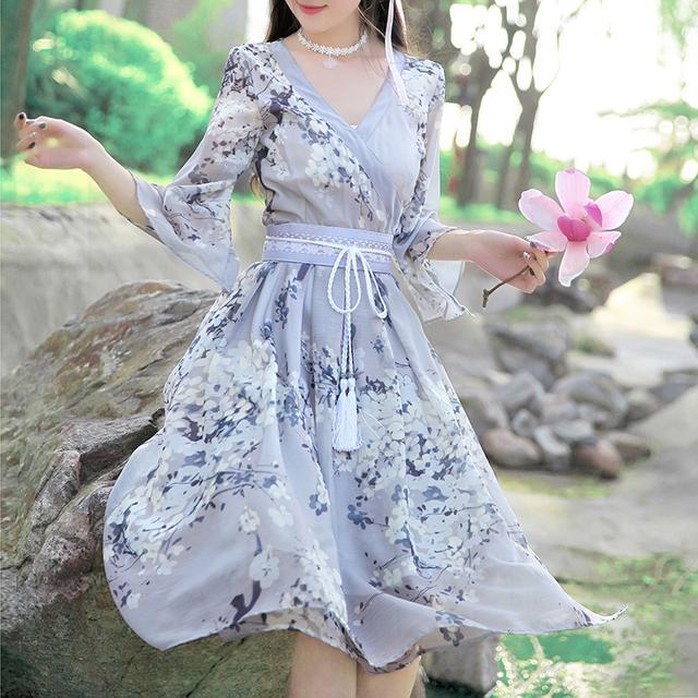 中国风,清新优雅,这才是中国人的连衣裙 4