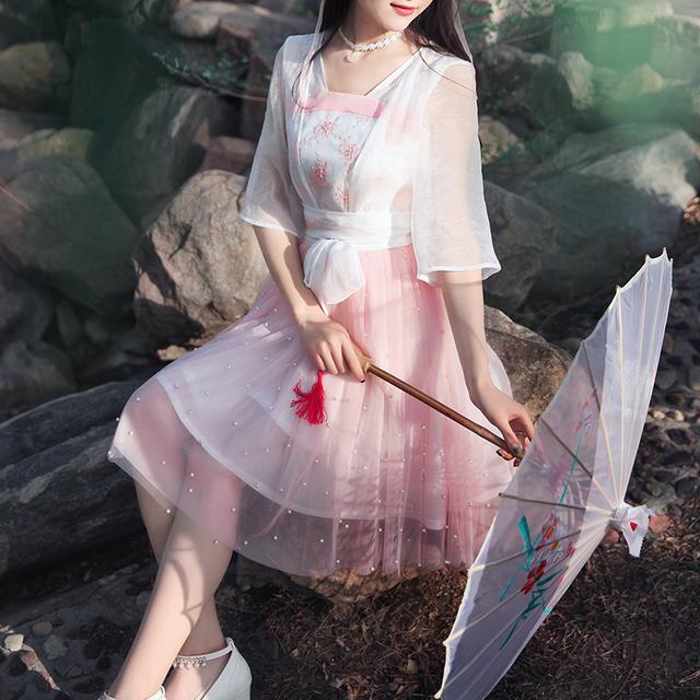 中国风,清新优雅,这才是中国人的连衣裙 6