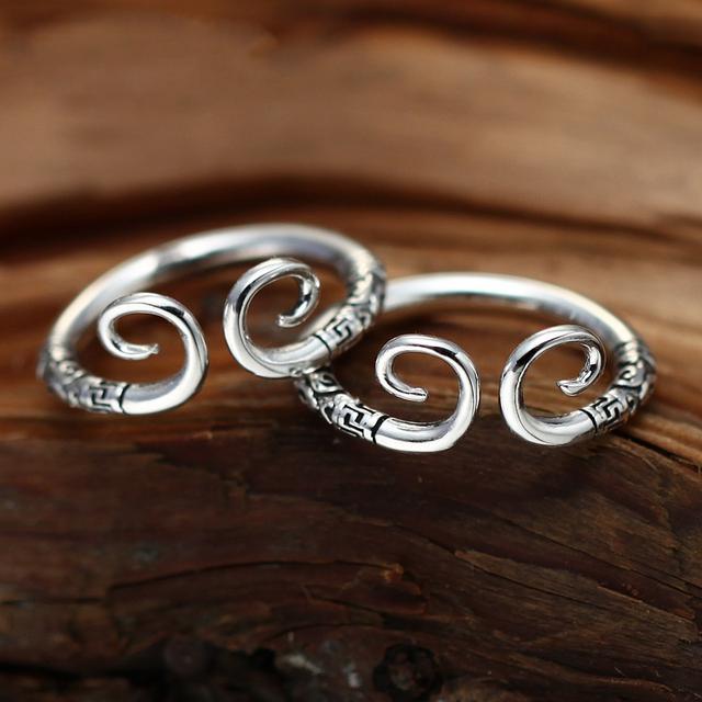银戒指款式