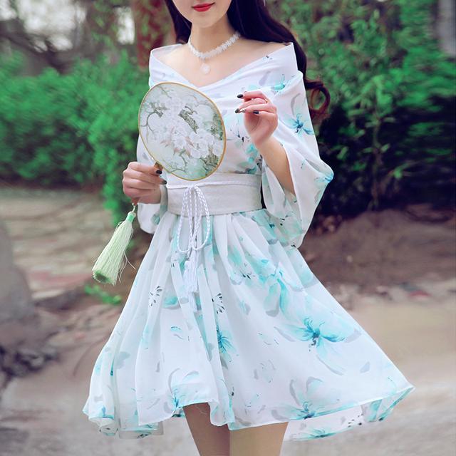 中国风,清新优雅,这才是中国人的连衣裙 2
