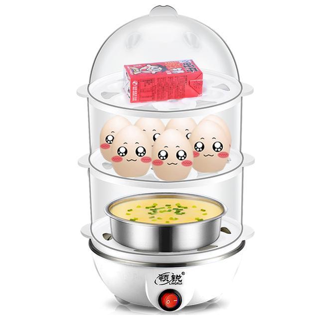 煮鸡蛋你喜欢几分熟,煮蛋神器帮你精准控制,想怎么吃就怎么吃