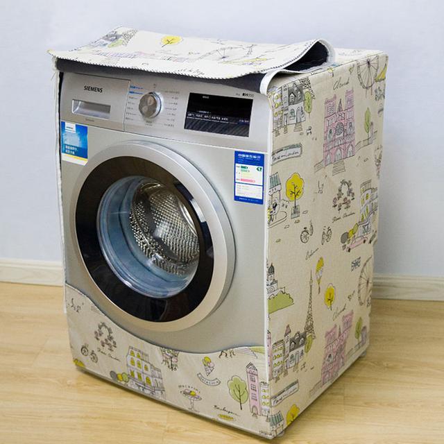 快来给自家的洗衣机换上漂亮的外罩吧