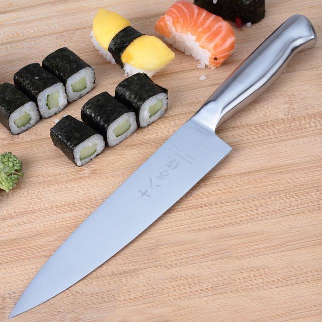 进口厨房刀具是不错:但国内也有一个刀具品牌,在全世界名声远扬
