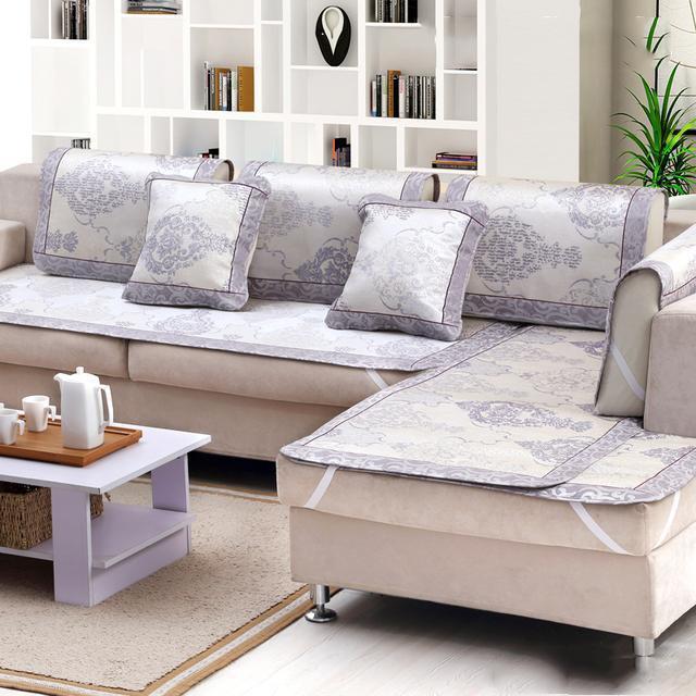 旧沙发破了不用换,一款实用的沙发套就能让它大变样,漂亮又舒适