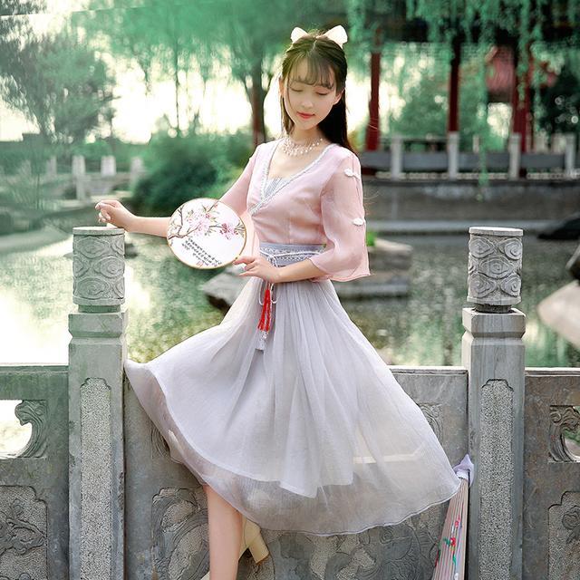 中国风,清新优雅,这才是中国人的连衣裙 11