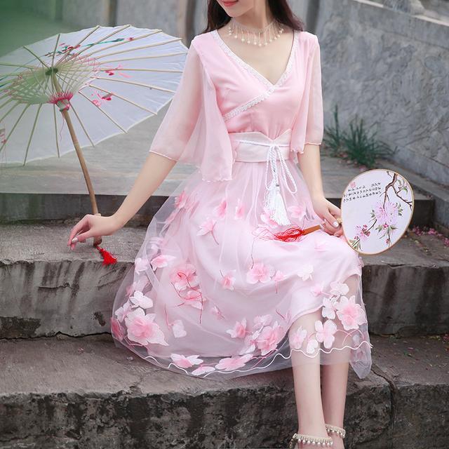中国风,清新优雅,这才是中国人的连衣裙 1