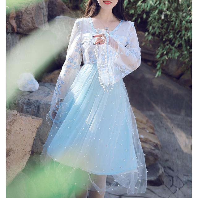 中国风,清新优雅,这才是中国人的连衣裙 7