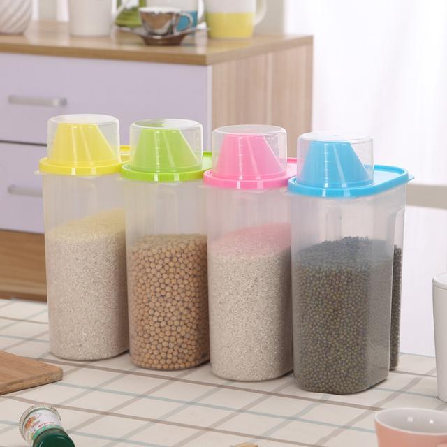 十款备受大家喜爱的厨房储物罐,小而美,条理有序更轻松