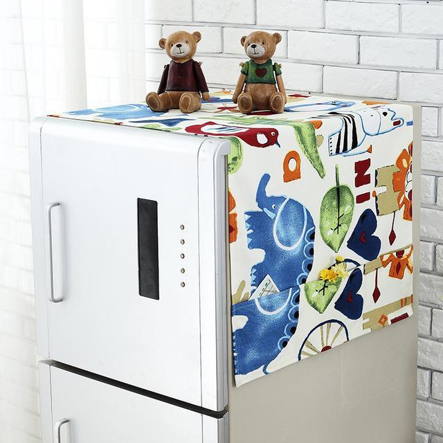 多功能的冰箱布艺罩,防尘效果一级棒, 居家小能手哦