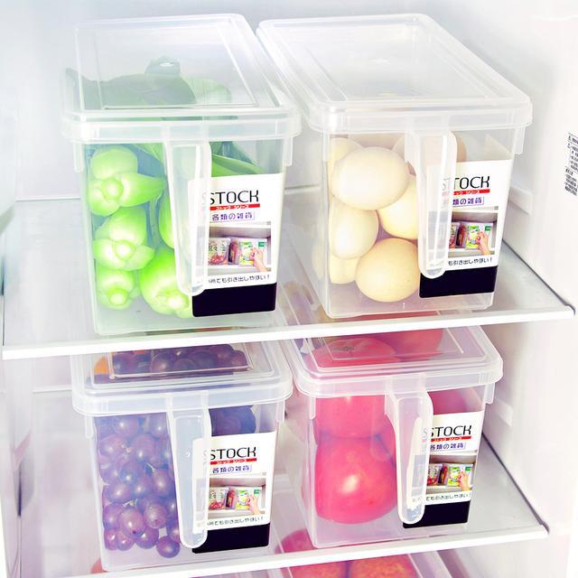 入手这几款便宜又好用的收纳盒 可以让冰箱腾出大空间